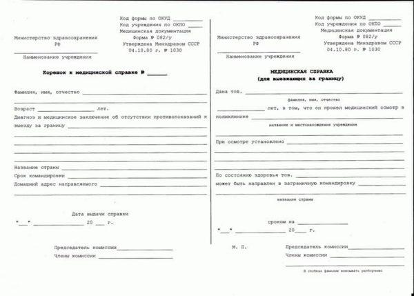 Сделать медсправку для выезда заграницу 082/у в Нижнем Новгороде - СИТИ Клиника